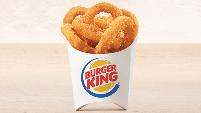 Trade Your Fries For Free Onion Rings At Select Burger King Locations On June 22, 2018
