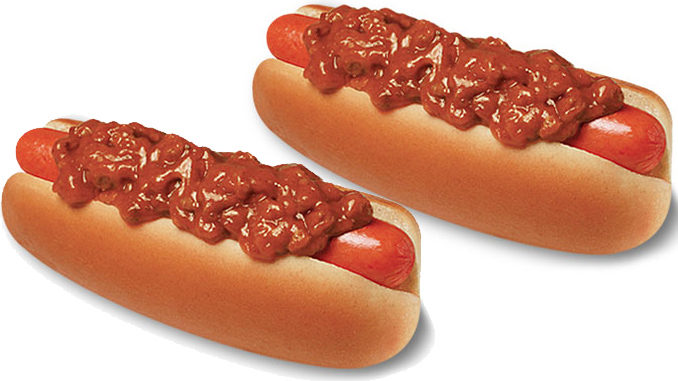 5 Chili Dogs For $5 At Wienerschnitzel On July 18, 2018