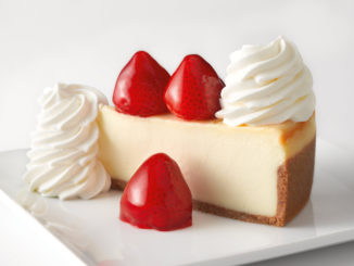 Any Slice, Half Price At The Cheesecake Factory On July 30, 2018