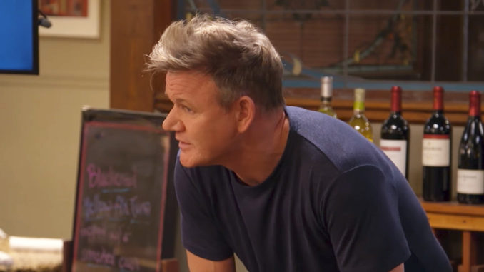 Gordon Ramsay At Sherman's Restaurant For 24 Hours To Hell And Back
