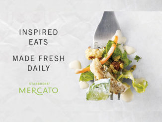 Starbucks Brings Its New Mercato Lunch Menu To The East Coast