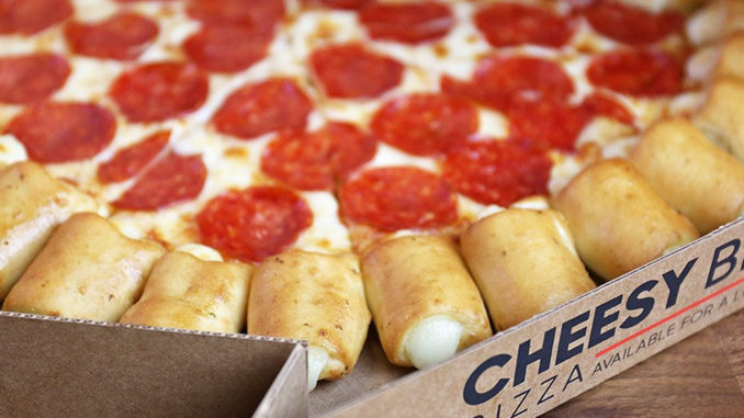 The Cheesy Bites Pizza Returns To Pizza Hut For A Limited Time