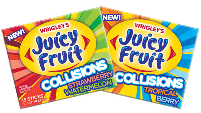 Wrigley's Introduces New Juicy Fruit Collisions
