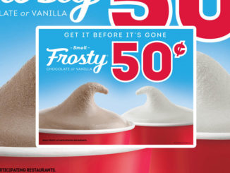 50-Cent Frosty Treats Return To Wendy's For A Limited Time