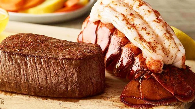 Outback Debuts New Great Barrier Combo As Part Of Returning Steak And Lobster Promotion