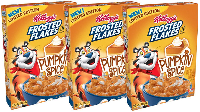 Pumpkin Spice Frosted Flakes Spotted In The Wild