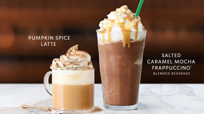 Starbucks Reveals 2018 Fall Menu Featuring Pumpkin Spice Latte And Apple Cider Doughnut