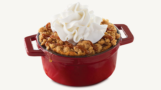 Arby's Brings Back Cinnamon Apple Crisp For Fall 2018
