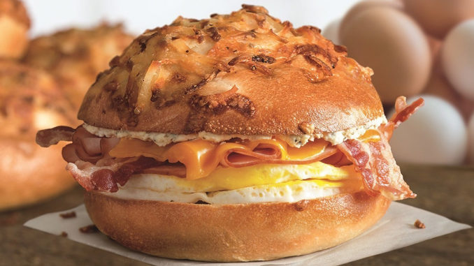 Bruegger's 2018 Fall Menu Features The New Farmhouse Egg Sandwich And New Five Cheese Bagel
