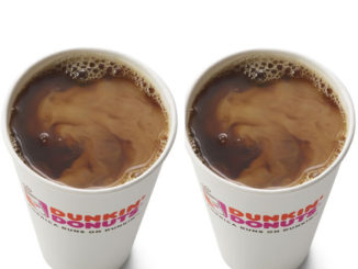 Buy One, Get One Free Hot Coffee At Dunkin' Donuts On September 29, 2018