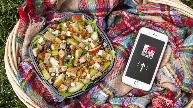 Free Half-Size Harvest Chicken Salad With Any Purchase At Wendy's Beginning September 22, 2018
