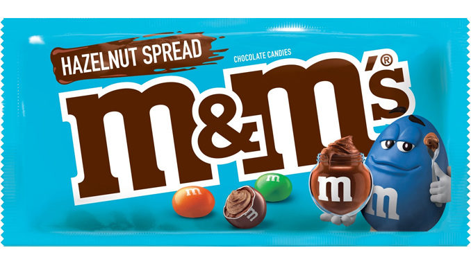 M&M'S Unveils New Hazelnut Spread Chocolate Candies