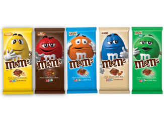 New M&M's Chocolate Bars Coming In December 2018