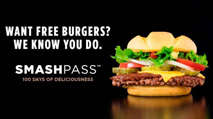 Smashburger Offers 100 Days of Free Burgers With $100 Smash Pass