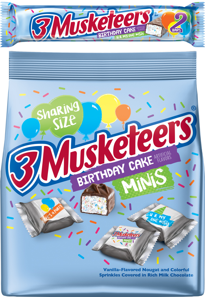 3 Musketeers Birthday Cake Flavor