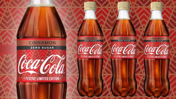 Coca-Cola Is Selling A New Cinnamon Flavor In The UK