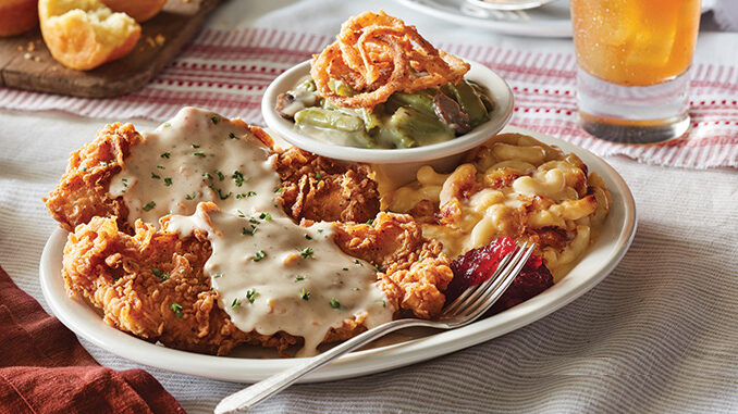 Country Fried Turkey Arrives At Cracker Barrel Old Country Store On October 29, 2018