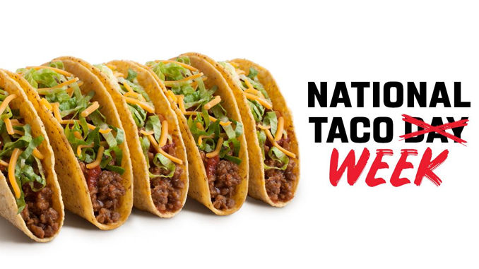 Free Crispy Beef Taco Every Day At Taco John's Through October 5, 2018