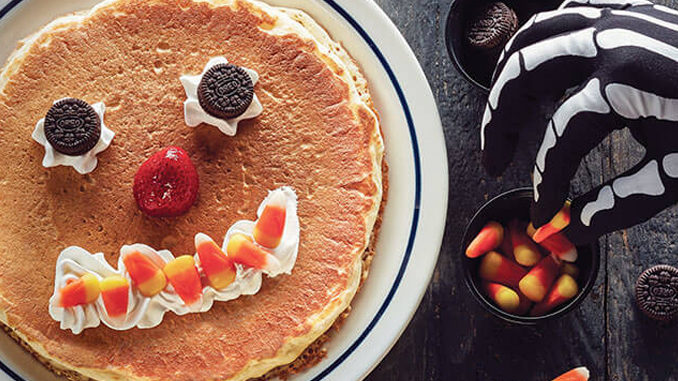 Free Scary Face Pancakes For Kids At IHOP On October 31, 2018