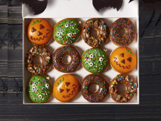Krispy Kreme Unveils New Trick-Or-Treat Doughnut As Part Of 2018 Halloween Collection
