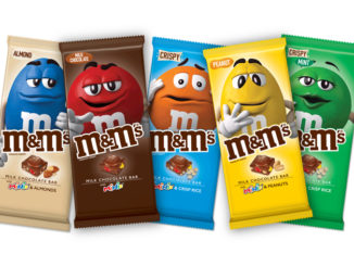New M&M's Chocolate Bars Spotted At Walmart