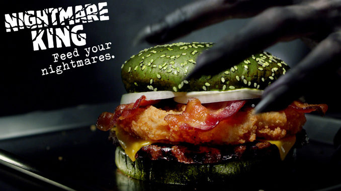 Burger King Launches Nightmare-Inducing Halloween Sandwich