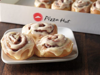Pizza Hut Introduces New Cinnabon Mini Rolls