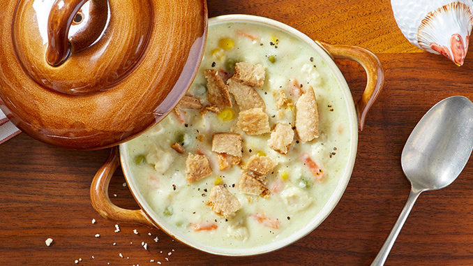 Potbelly Brings Back Chicken Pot Pie Soup