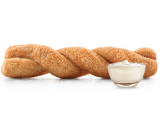 Sonic Adds New Sweet Pretzel Twist With Cream Cheese Frosting