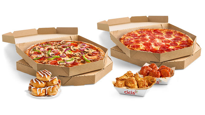 Cicis Introduces New Value Packs Menu