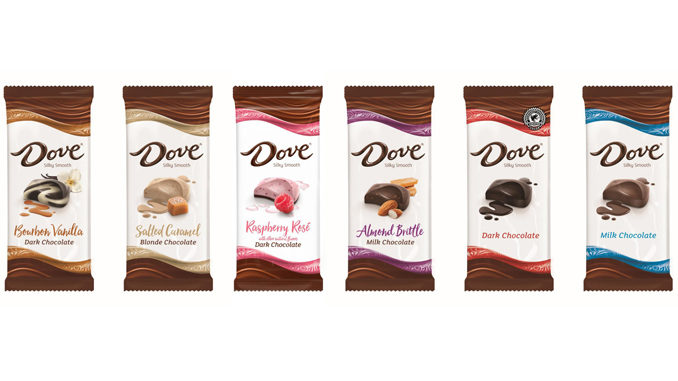Dove Unveils New Line Of 'Silky Smooth' Chocolate Bars