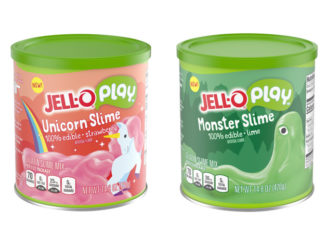 Jello-O Play Introduces New Edible Slime In Two Fruity Flavors