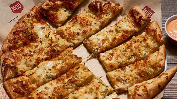 MOD Pizza Introduces New Cheesy Garlic Bread