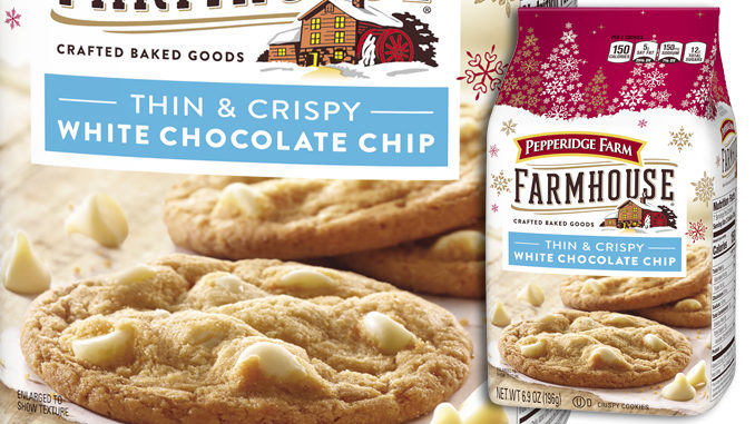 Pepperidge Farm Introduces New Farmhouse Thin And Crispy White Chocolate Cookies