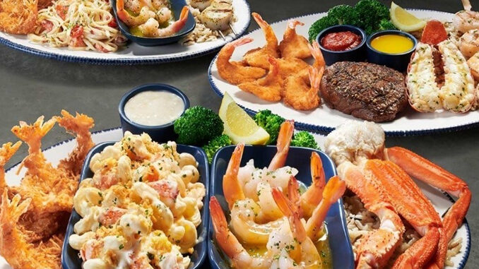 Red Lobster Launches New Create Your Own Ultimate Feast Event