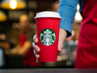 Starbucks Is Giving Away Free Limited-Edition Red Reusable Cups On November 2, 2018