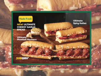 Subway Introduces New Ultimate Cheesy Garlic Bread