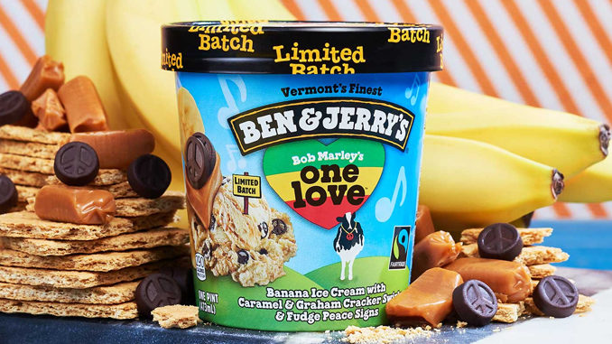 Bob Marley's One Love Ice Cream Is Back At Ben & Jerry's