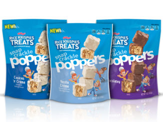 Kellogg's Unveils New Rice Krispies Treats Snap Crackle Poppers