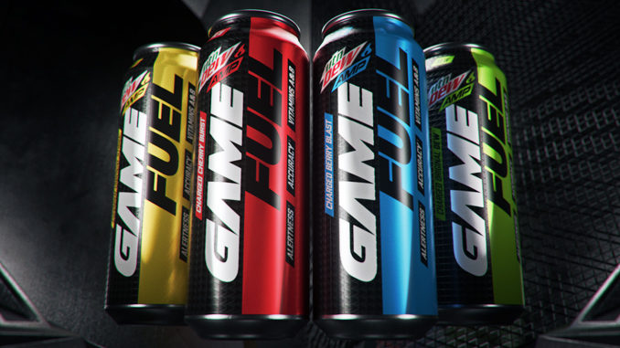 Mountain Dew Amp Unveils New Beverage Developed For Gamers
