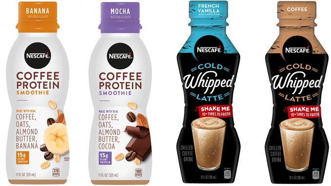 Nescaf Unveils New Ready To Drink Coffee Protein Smoothies And Cold Whipped Lattes