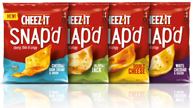 New Cheez-It Snap'd Crackers Are Headed To Shelves In January 2019