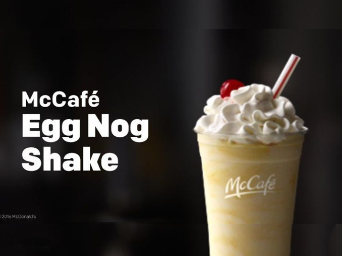 Where In The World Are McDonald's Egg Nog Shakes This Year? - Chew Boom