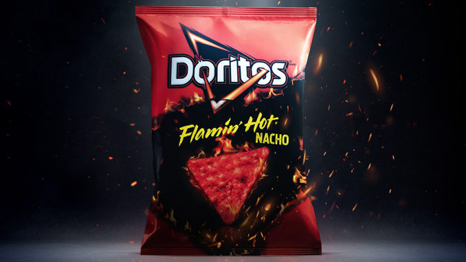 Doritos Launches New Flamin' Hot Nacho Flavor