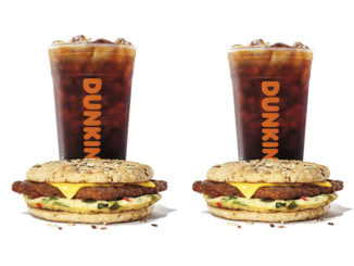Dunkin' Introduces New Power Breakfast Sandwich And New Energy Cold Brew