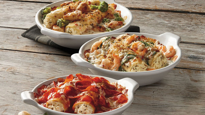 Fazoli's Unveils New Baked Manicotti While Welcoming Back Pizza Baked Spaghetti