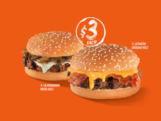 Hardee's Unveils New Angus Thickburger Melts