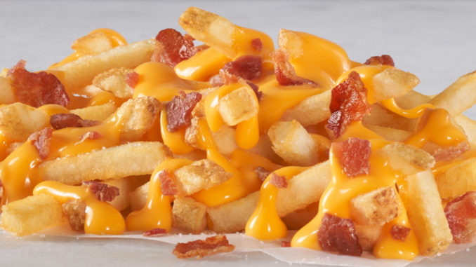 Hardee's Welcomes Back Loaded Bacon Cheddar Fries