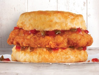 Hardee's Tests New Sweet And Spicy Chicken Biscuit In Knoxville