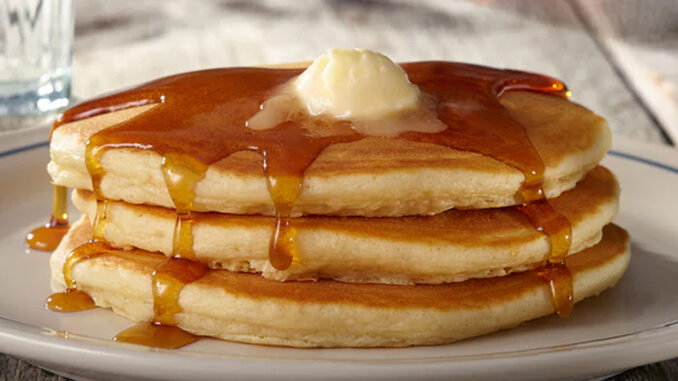 IHOP Offers New 'All You Can Eat Pancakes' Deal With Any Breakfast Combo
